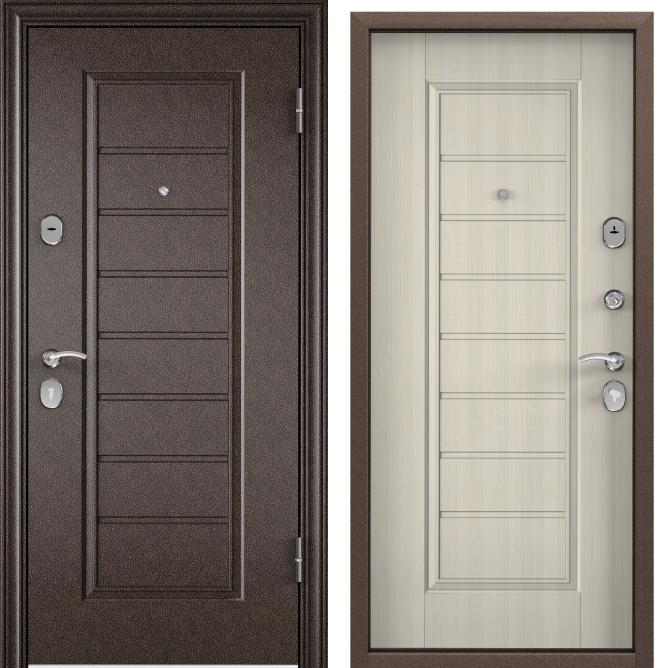 Дверь Torex DELTA 07 M (Медный антик | Белый перламутр) #1939