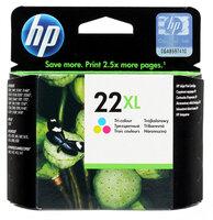 Картридж HP C9352CE №22XL цветной