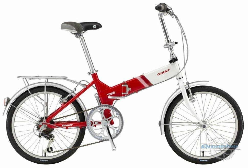 Велосипед Giant FD-806 red (2016)