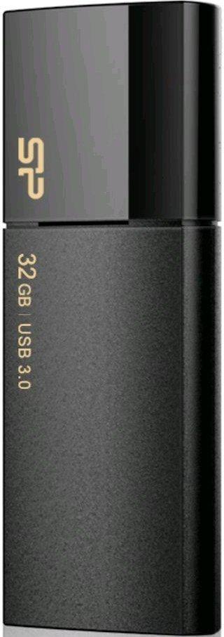 USB Flash накопитель 32Gb Silicon Power Blaze B05 Black (SP032GBUF3B05V1K)
