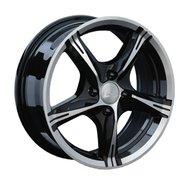 Литой диск LS Wheels 137 6.5x15 4x98 ET32.0 D58.6 BKF - фото 1