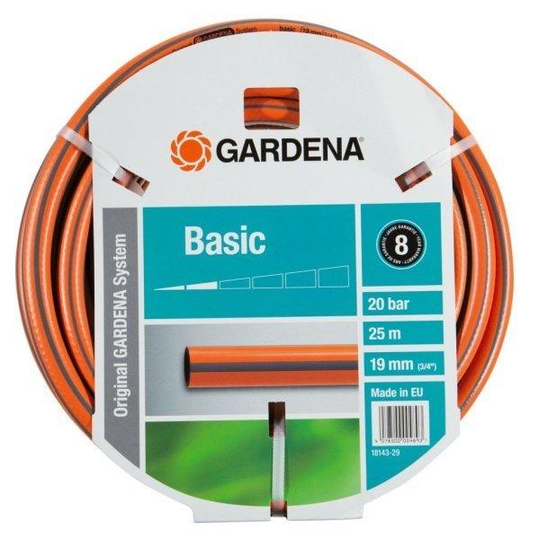 Шланг Basic 9 х 9, 3/4 х 25 м GARDENA 18143-29.000.00