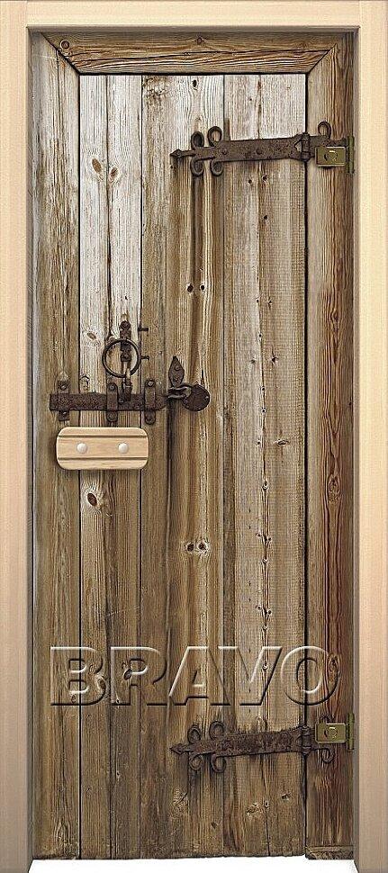 Межкомнатная дверь Браво Для сауны и бани Дерево