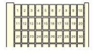 Маркировка RC510 (1 A 100) Маркировка номеров горизонтальная TYCO