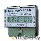 Инкотекс 201.8 Счетчик Меркурий 5-80А/220В, однофазный однотарифный, ЖКИ, DIN