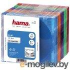 Коробка Hama H-51166 для 1 CD Slim 25 шт. 5 цветов