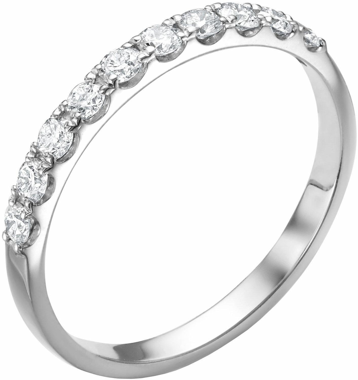 Кольцо из белого золота Vesna jewelry 1794-251-00-00 с бриллиантами, размер 17,5 мм