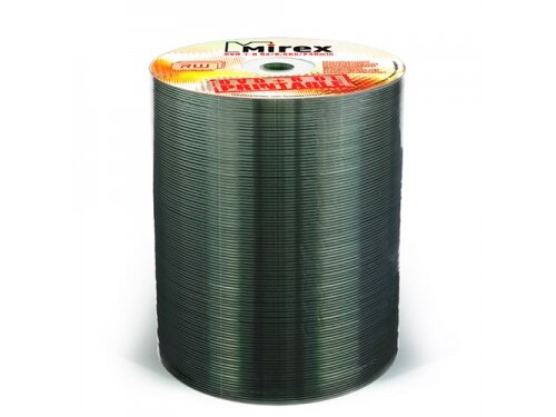 Оптический диск Mirex DVD+R 8.5 Gb, 8x, Shrink (100), Ink Printable
