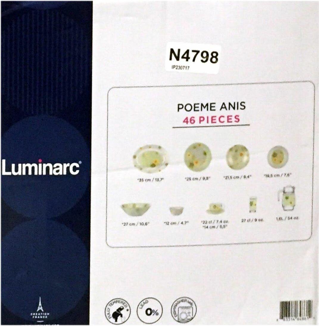 Столовый сервиз Luminarc