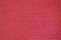 """Ткань """"РОГОЖКА-02"""", (90% лен, 10% люрекс), 50х50 см (24336 красный)"""