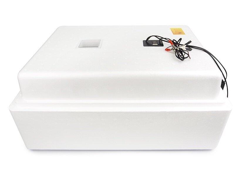 Инкубатор Несушка 104 яйца 220/12 В, автомат. пов., цифр. терм.,гигрометр, арт.64г