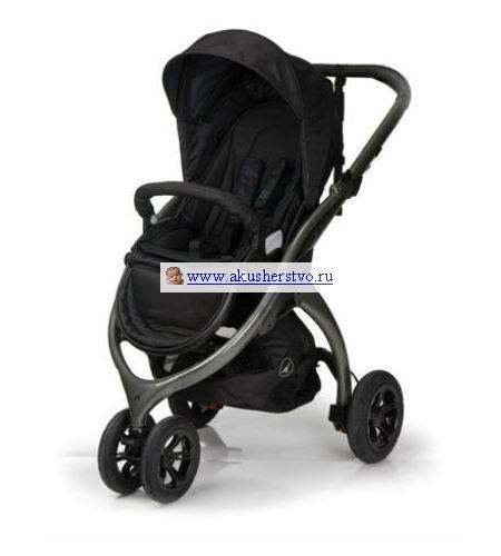 Прогулочная коляска Casualplay Kudu 3 501 Antracita без матрасика