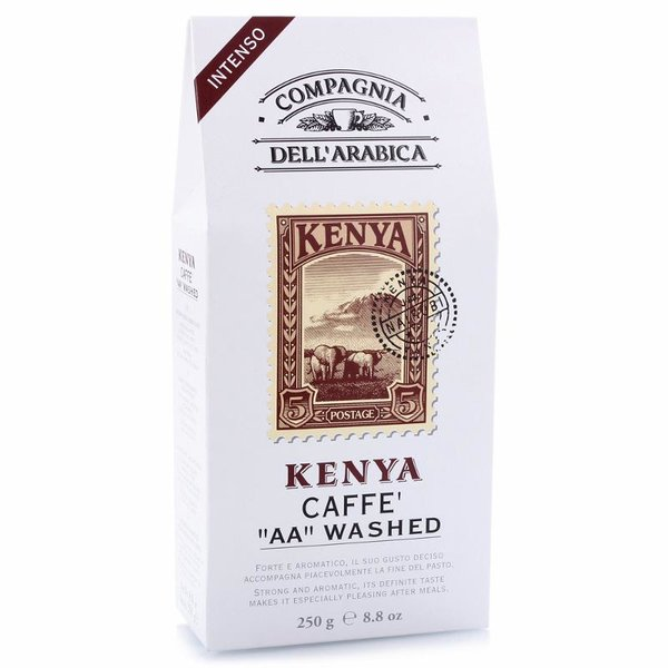 кофе молотый Dell' Arabica Puro Arabica Kenya AA Washed