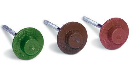 Ондулин Гвоздь Onduline красный (коричневый, черный, зеленый)
