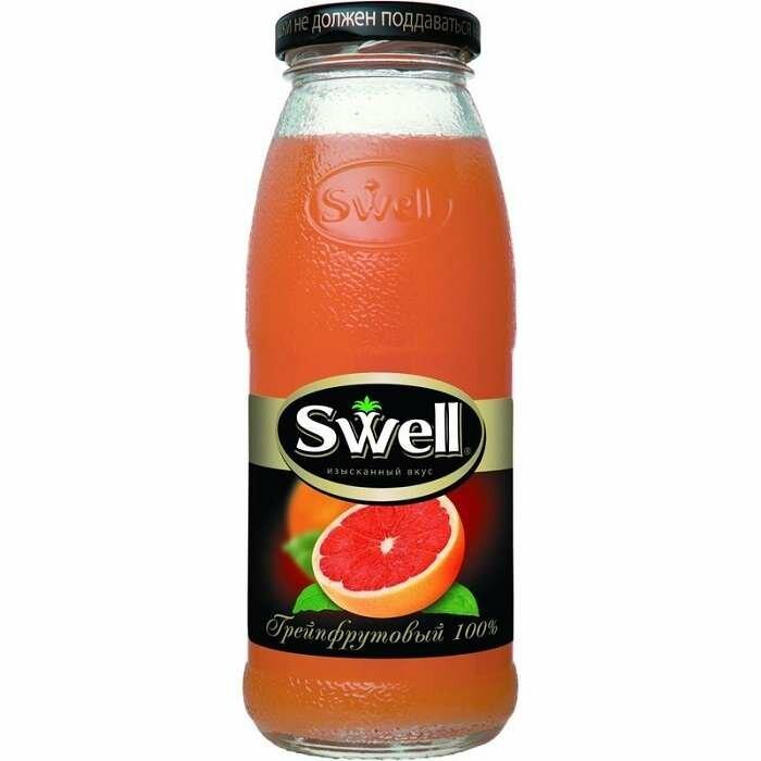 Сок SWELL грейпфрут 0,25л