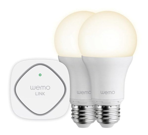 Умные лампы Belkin WeMo Lighting Starter Kit для iOS и Android (F5Z0489VF)