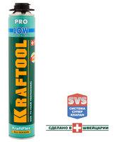 Пена монтажная с низким вторичным расширением 750 мл Kraftool KRAFTFLEX PREMIUM PRO LOW 41181_z01