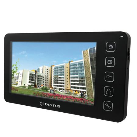 Видеодомофон Tantos Prime VZ Черный