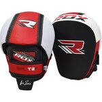 Боксерские лапы RDX MMA Boxing Cowhide Leather Smartie Focus Mitts