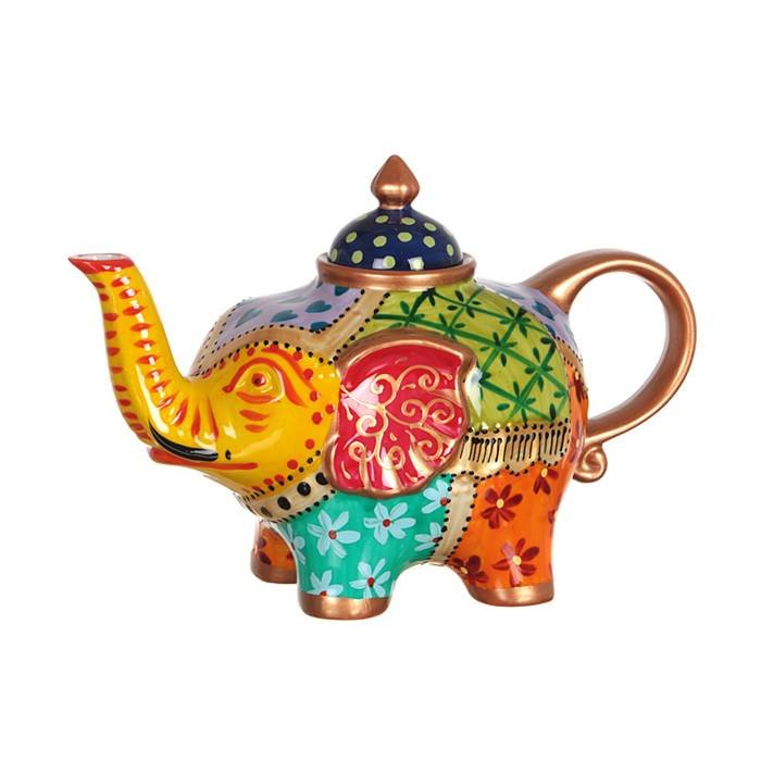 "LEFARD п-да/чай 151-032 чайник ""слон""800 мл. (кор=16шт.) фарфор"