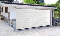 Секционные гаражные ворота Дорхан (пружинное управление) 2000мм х 1800мм