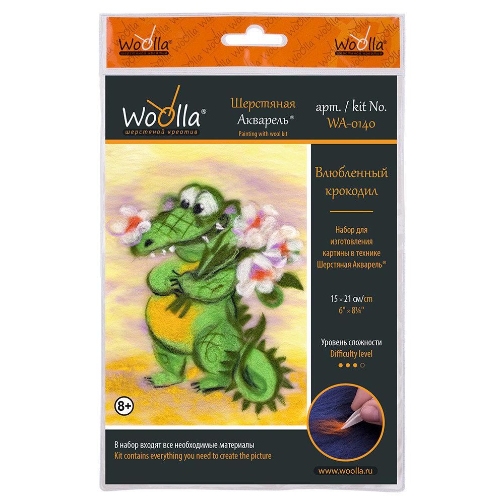 Шерсть Woolla Влюбленный крокодил