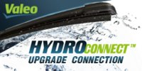 Щетка стеклоочистителя бескаркасная Valeo HydroConnect Upgrade HU60 600мм (578579)