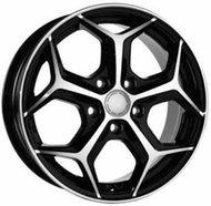 Литой диск Реплика Fo62H 7.5x17 5x108 ET52.5 D63.3 BFP - фото 1