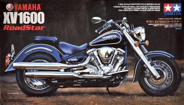 Tamiya: Мотоцикл Yamaha XV1600 Road Star