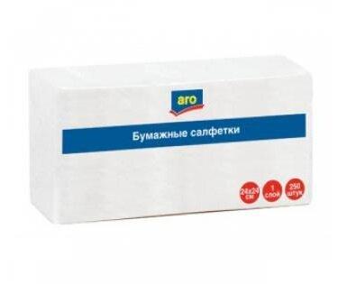 Салфетки бумажные 24x24 - 250 шт