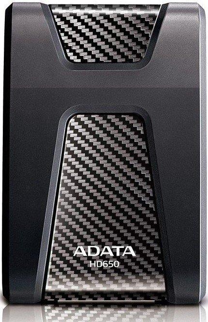 Внешний жесткий диск 1Tb ADATA HD650 Black (AHD650-1TU3-CBK)