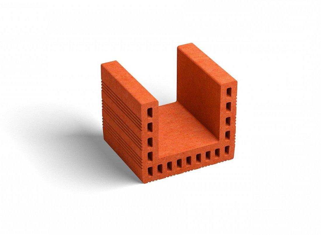 Керамический блок PORIKAM перемычка
