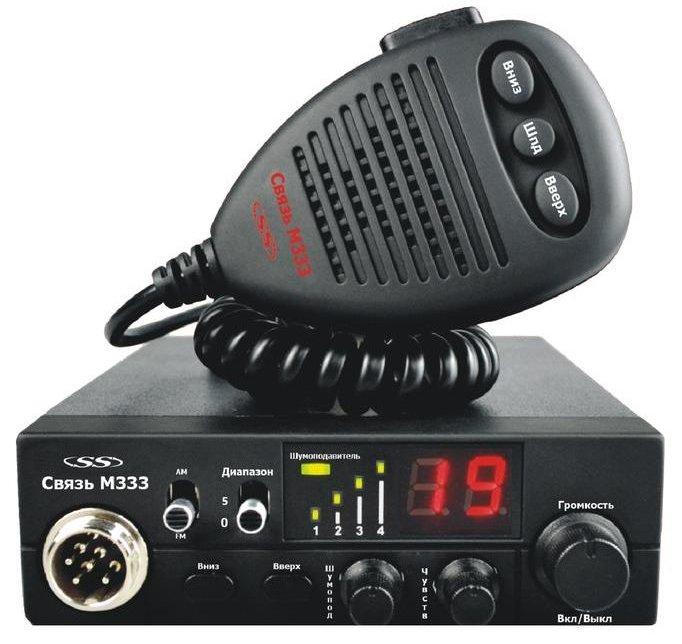 Рация Связь М333 Си-Би 27 МГц
