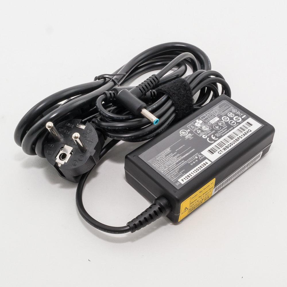 Зарядка для ноутбука HP 19,5V 3,33A (65W) 4,5x3мм с иглой
