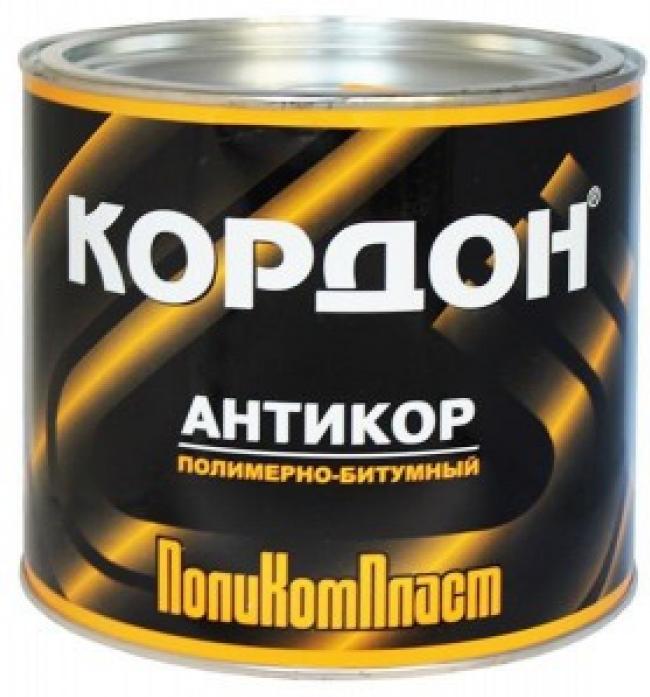 Антикор ПолиКомПласт полимерно-битумный Кордон 2,3кг
