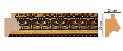 Декоративный багет для стен Декомастер Ренессанс J12-1223