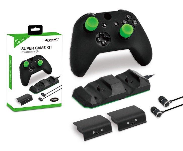 Набор аксессуаров DOBE Super Game Kit 5в1 для XBOX One S