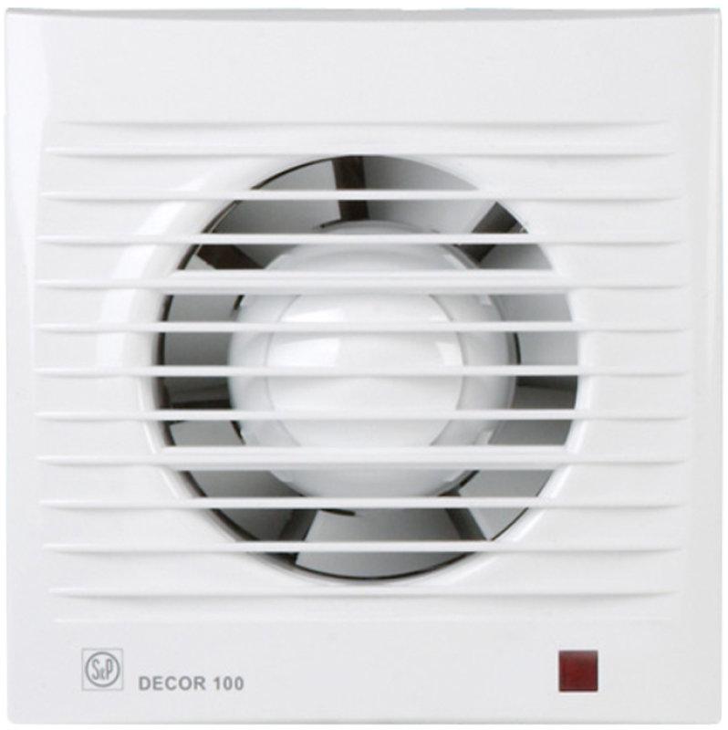 Вытяжной вентилятор Soler & Palau Decor 100C осевой
