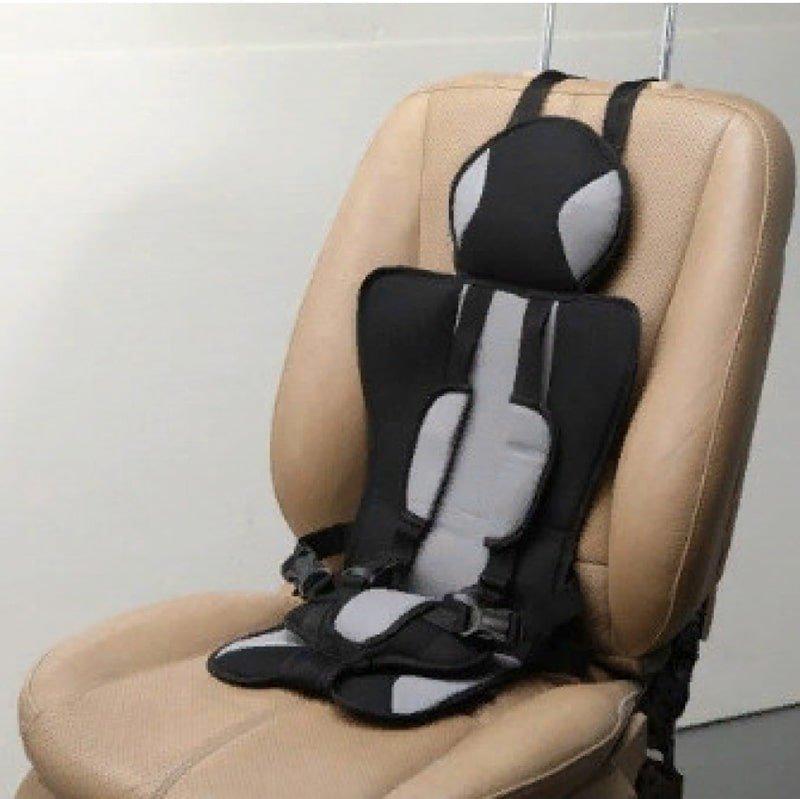 Детское мягкое бескаркасное автокресло Child Car Seat серое