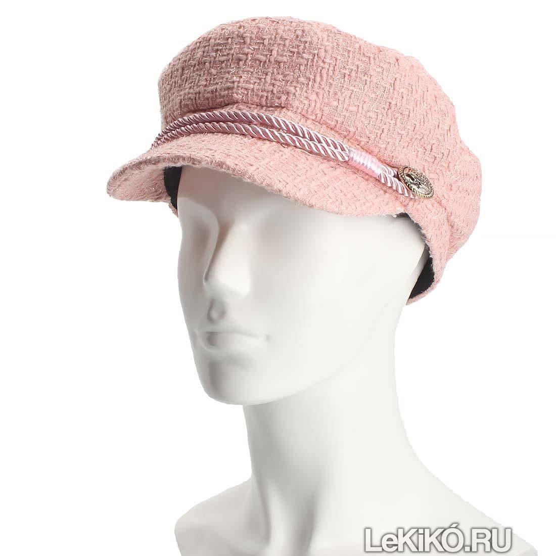 Кепка женская «Шарли» W1004 Pink