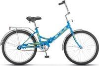 Велосипеды Складные Stels Pilot 710 24 Z010 (2018) Синий