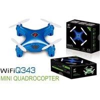 Радиоуправляемый квадрокоптер WL Toys Q343 Mini WiFi Quadcopter