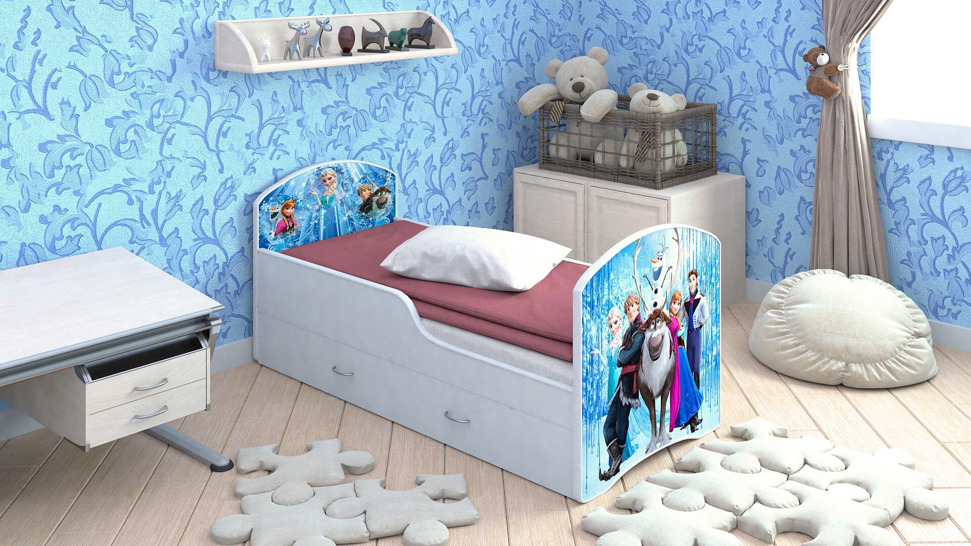 Кроватки, комоды, ящики