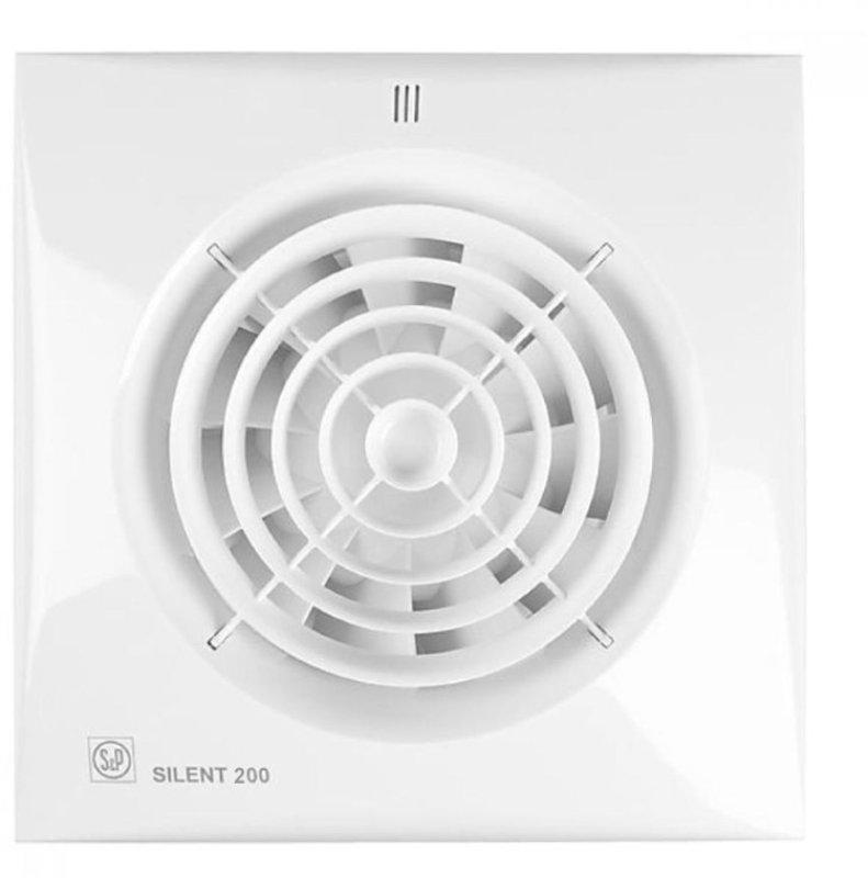 Вытяжной вентилятор Soler & Palau SILENT-200 CRZ осевой