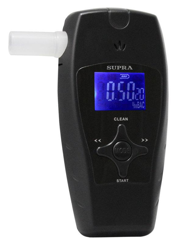 Алкотестер Supra ATS-300, black