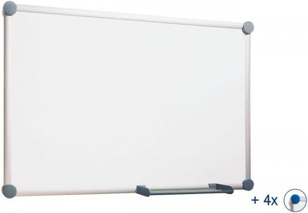 Магнитно-маркерная доска 45x60 см Hebel Whiteboard 2000 6301084