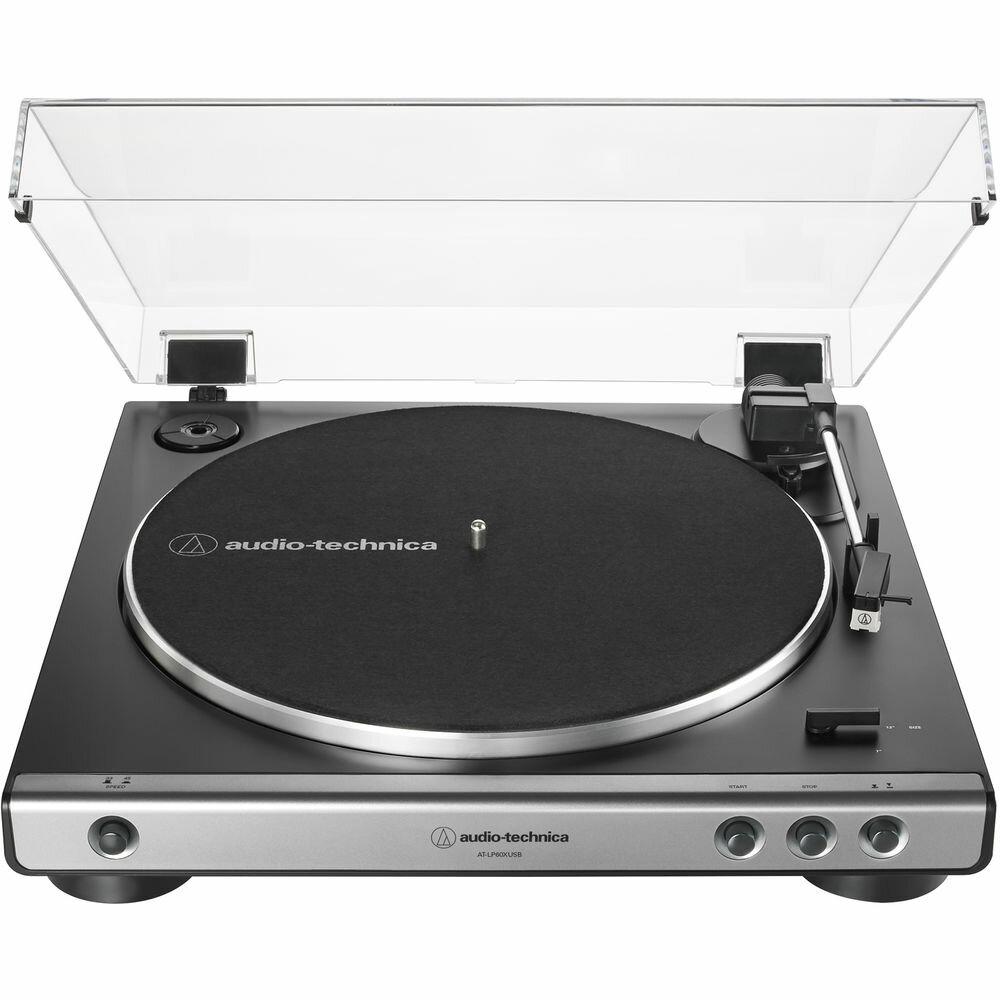 Проигрыватели винила Audio Technica AT-LP60XUSB gun metal