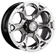 Racing Wheels H-276 9x18 6x139.7 ET 20 Dia 110.5 HS HP - фото 1
