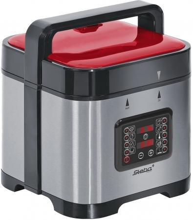 Мультиварка Steba DD 2 BASIC 900 Вт 5 л серебристый черный красный