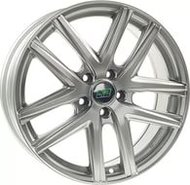 литой колесные диски Nitro N2O Y4925 7x17 ET50 PCD5*114.3 (Серебро) DIA 67.1 - фото 1
